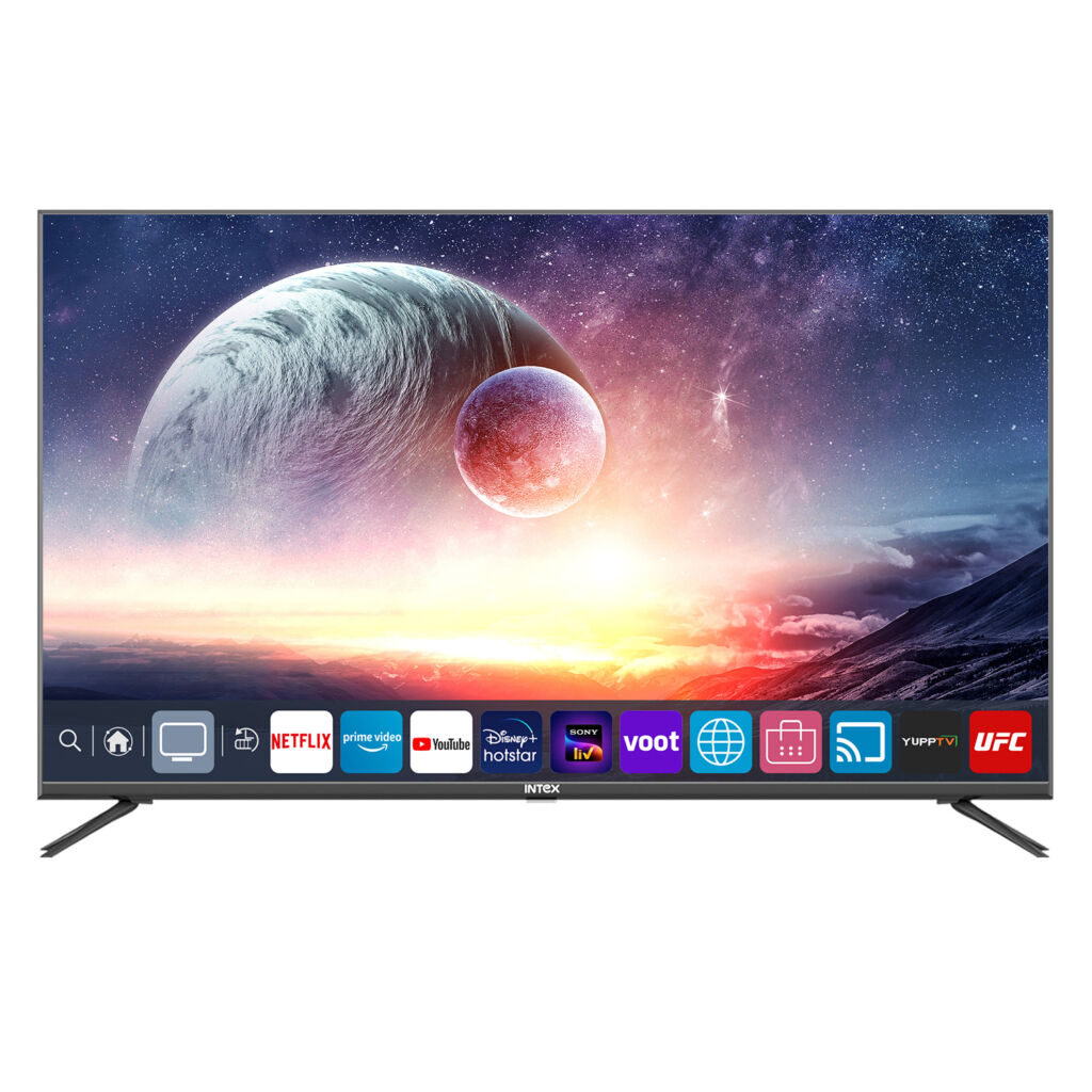 Intex Launches Its flagship First WebOS TV in two sizes with Dolby Audio